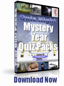 Mystery Year Quiz