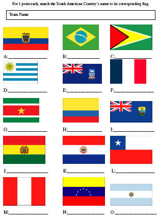 Picture quiz south american flags pauls free quiz for Table quiz rounds