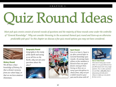 The BIG Pub Quiz Toolbox for iPad and Mac - Pauls Free Quiz